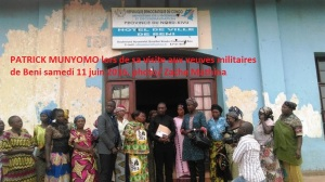 Patrick MUNYOMO VRAI MUTOTO WA GOMA a rendu hommage aux victimes des massacres de Beni ville et territoire